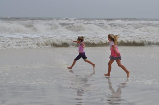 realjoyAbbi & Morgan beach 1